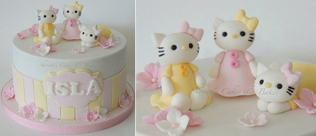 Hello Kitty cake by Shereen's Cakes & Bakes