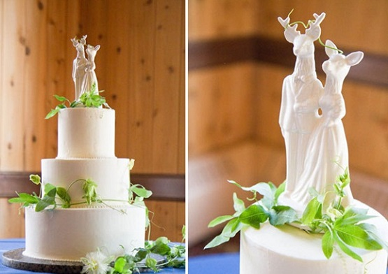 Midsummer Night's Dream wedding cake via The Natural Wedding Company (2)