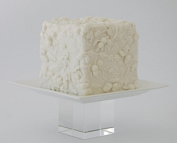 bas relief cake by The Artful Caker