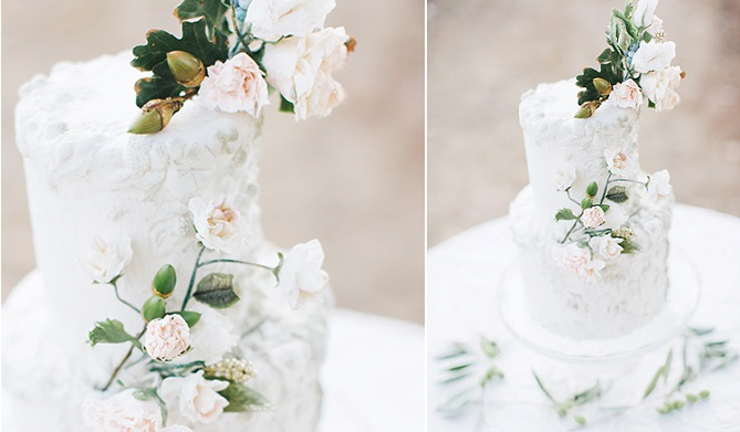 bas relief wedding cake by Maggie Austin, EmmaWilletts Photography