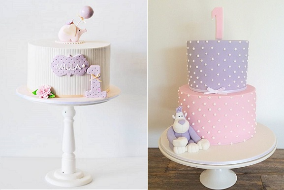 2nd Year Birthday Cake Designs For Baby Girl : 1st Birthday Cakes - Cake Geek Magazine