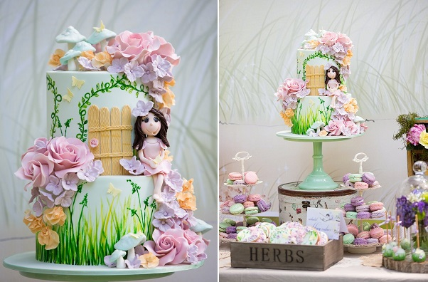 Flower Fairy Cakes & Tutorials - Cake Geek Magazine