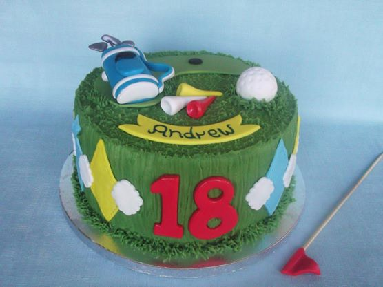 golf cake by Box Hill Bespoke Cakes