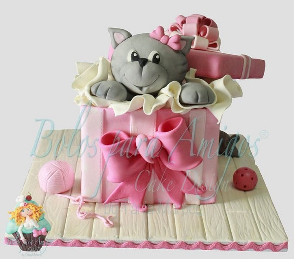 Birthday Cake Designs Cats
