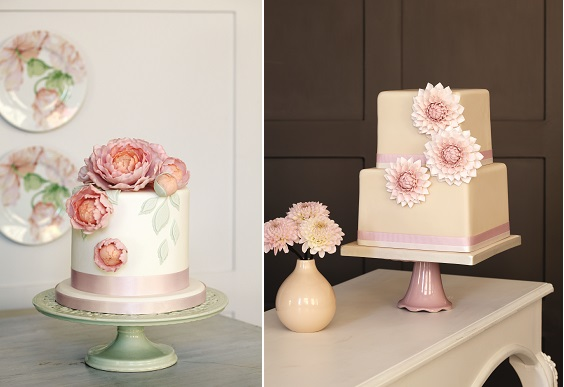 sugar peonies and dahlias from Cakes in Bloom by Peggy Porschen
