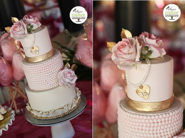 vintage locket cake by Sugar Couture Cupcakes & Cakes