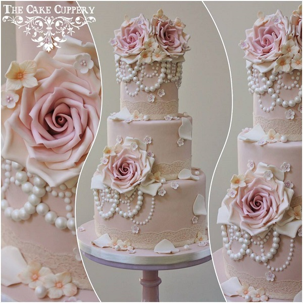 Wedding Cake Designs Vintage : Vintage Jewellery & Locket Cakes - Cake Geek Magazine