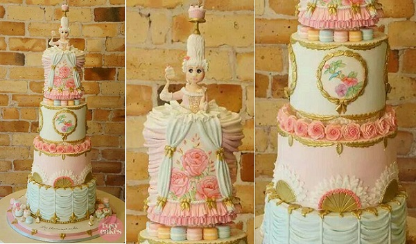 Marie Antoinette Cake by Rosy Cakes, New Zealand