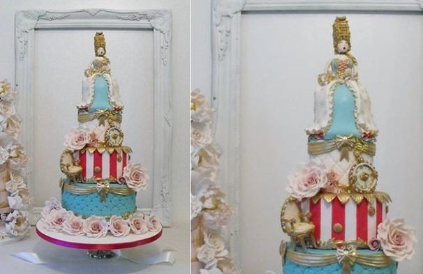 Marie Antoinette cake by Dee's Sweet Surprises