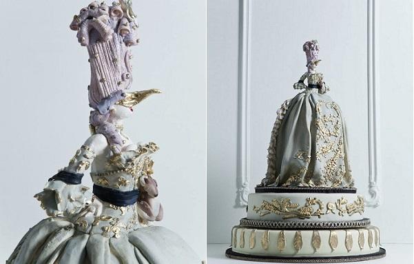 Marie Antoinette cake by The Cake Opera Co., 5ive 15ifteen Photography