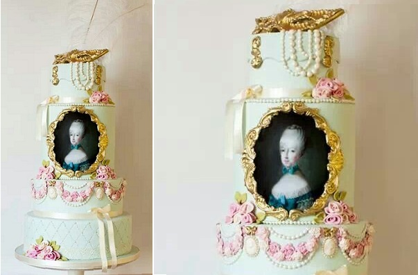 Marie Antoinette cake by The Silly Bakery