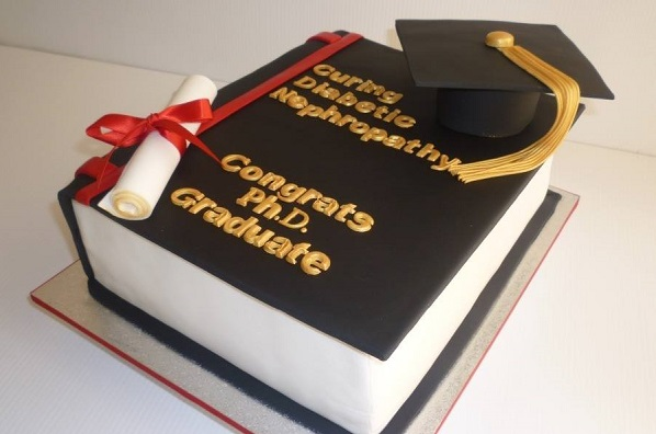 graduation cake by BeDazzled Cake Creations