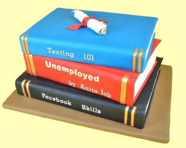 graduation cake tutorial by Global Sugar art, book cake tutorial