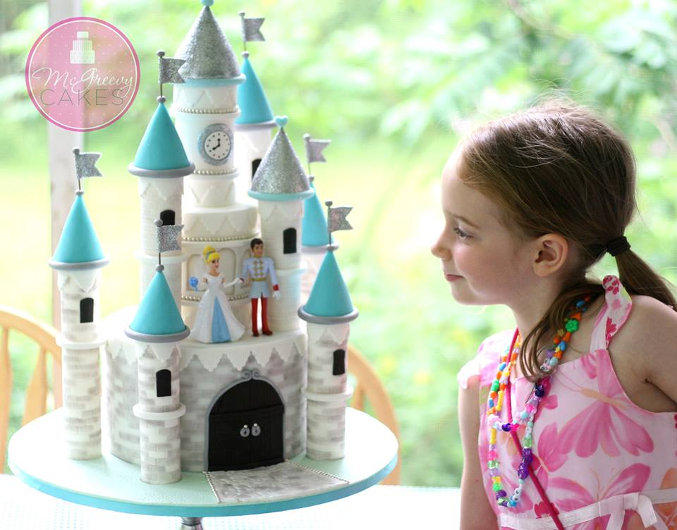 princess castle cake by McGreevy Cakes
