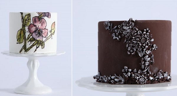 bas relief cake decorating tutorial and stained glass cake tutorial with Maggie Austin on Craftsy