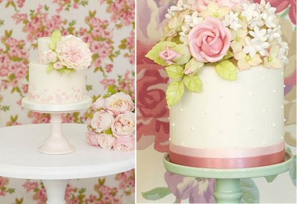 sugar foliage and flowers by Peggy Porschen, image by Georgia Glynn Smith