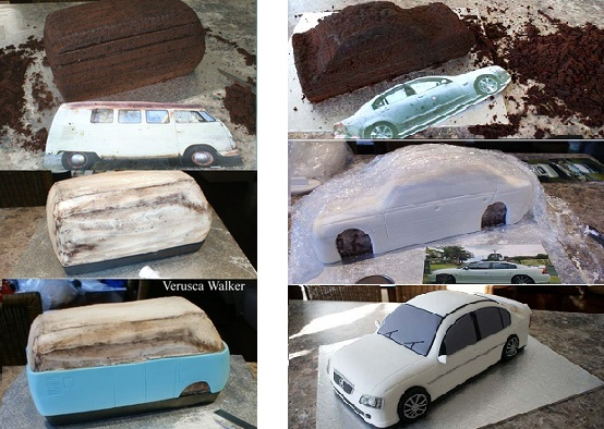Car Cakes Tutorials Cake Geek Magazine