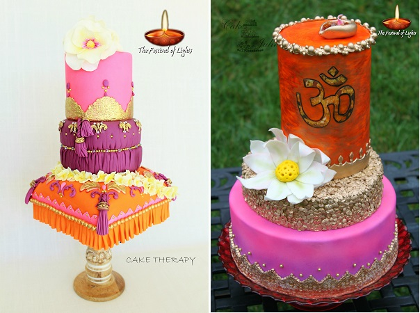 Cake Therapy, Yanira Anglada (left) and Cakes by Julie (Juliana Jensen)