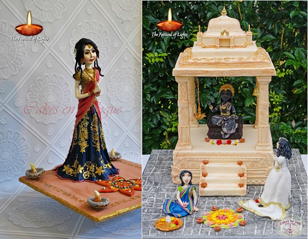 Cakes En Vogue, Sherin Rizwan (left), Cakes by Sasi, Sasi Nesarajah (right)