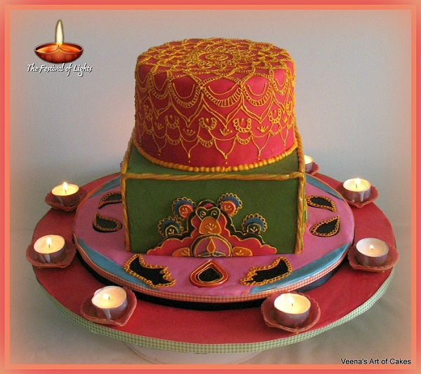 International Cake Collaboration: Festival of Lights (Part ...