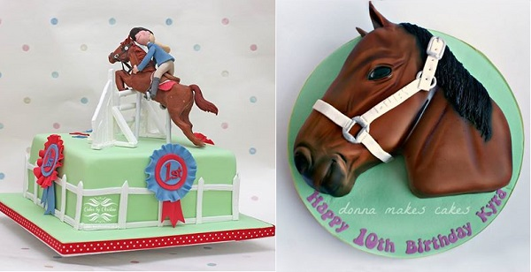Showjumping Cake By Cakes Christine UK Horses Head Donna Makes