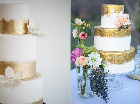 1 Cheryl Ford Photography via Style Unveiled left, Sweet On Cake right