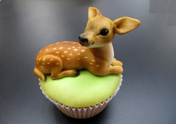 baby deer cake Bambi cake by Margie Carter Cake World
