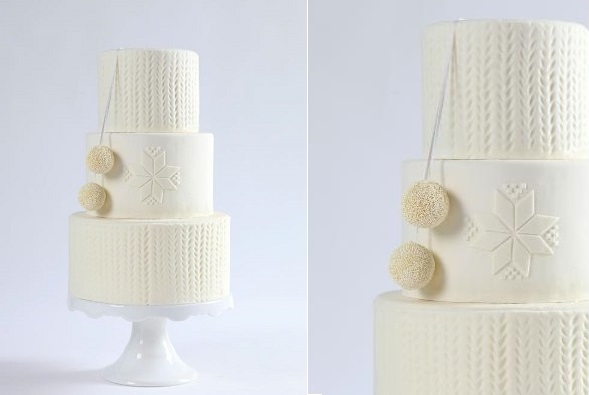 knit effect cake tutorial by Erica O'Brien for Craftsy