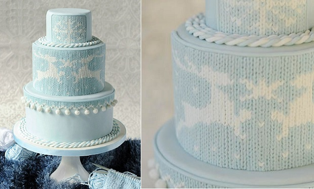 knit effect cake tutorial by Ligia De Santis, Be Sweet Li,