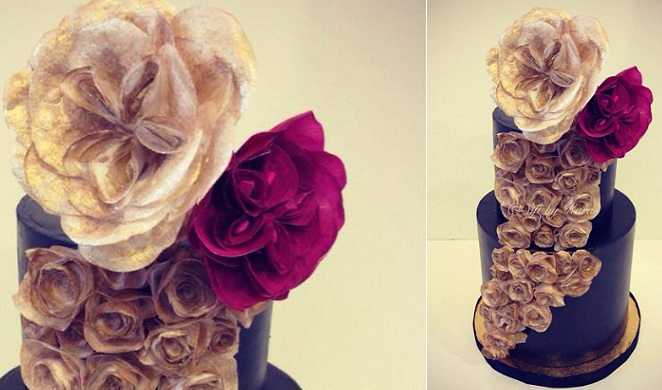 wafer paper flowers by Sift by Kara