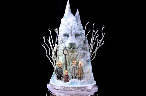2. narnia wedding cake by Michelle Sugar Art