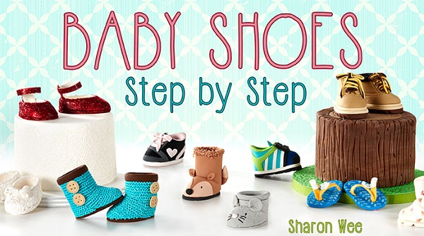 Baby Shoe Tutorials with Sharon Wee on Craftsy