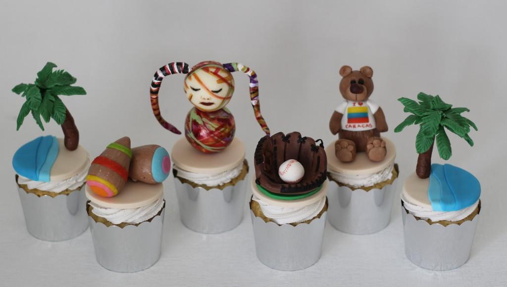 Caracas, Venezuela cupcakes by Sarah Clark (The Cake Tin)