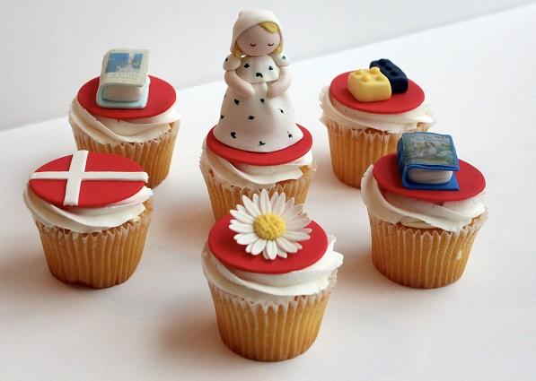 Copenhagen, Denmark cupcakes by Kerrin Dunbar, Cakes by Kerrin