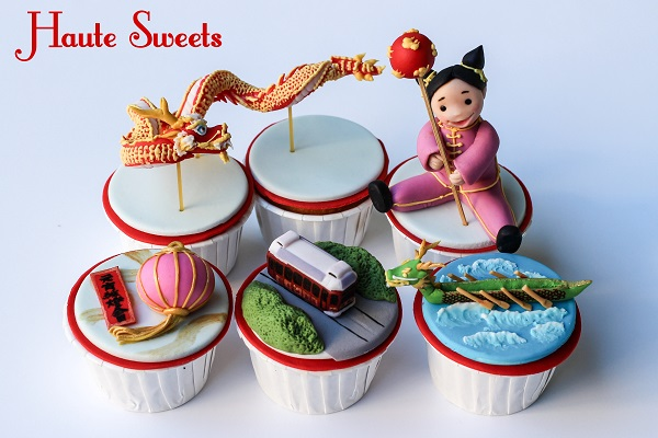 Hong Kong cupcakes by Hiromi Greer of Haute Sweets