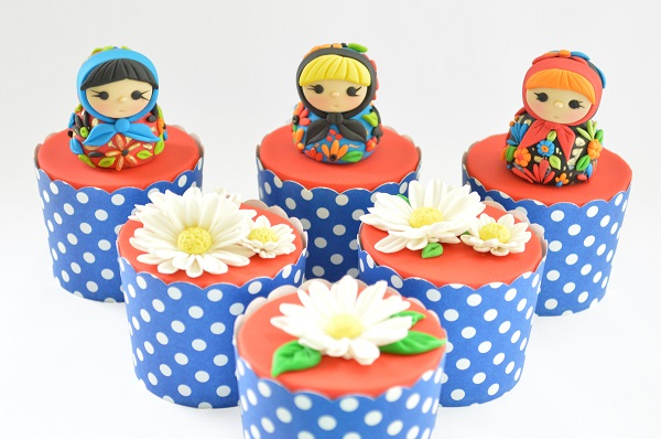 Moscow cupcakes by Yanira Anglada, Cake Therapy