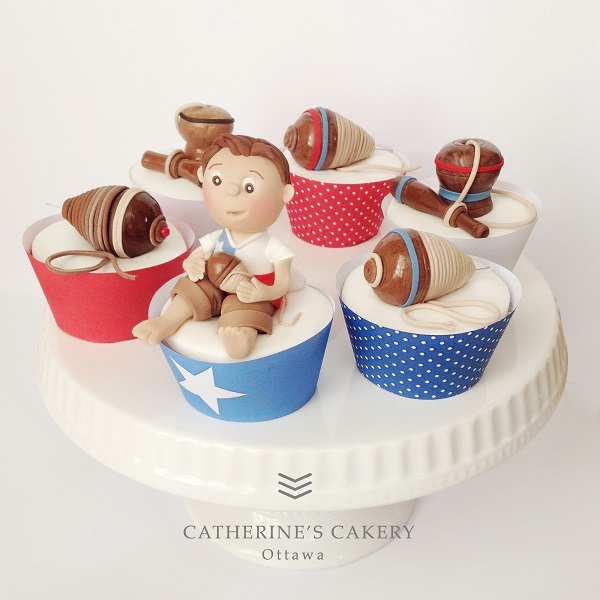 Santiago, Chile Cupcakes by Catherine Beddall of Catherine's Cakery