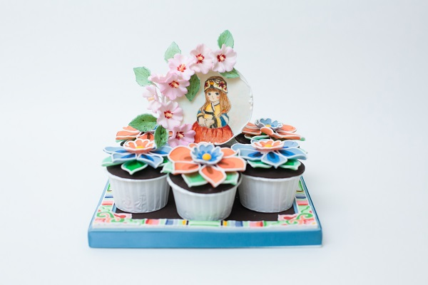 Seoul, Korea cupcakes by Ella Yovero of La Cupella Cake Boutique