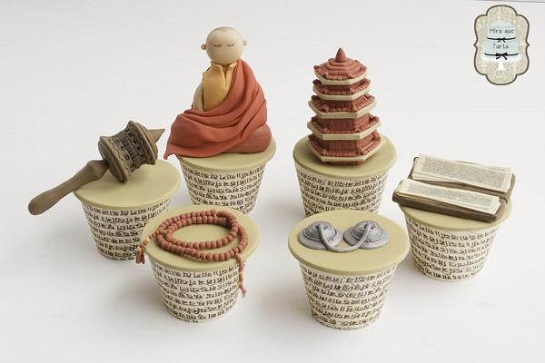 Tibet cupcakes by Rebeca Morera & Isabel Macarron (Mira Que Tarta)