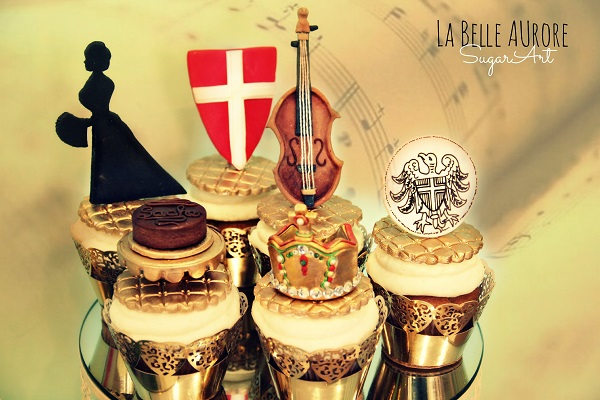 Vienna, Austria cupcakes by La Belle Aurore