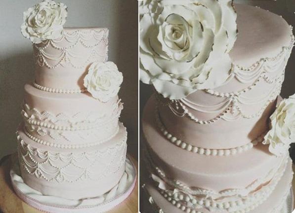 Wedding Cake Pipping