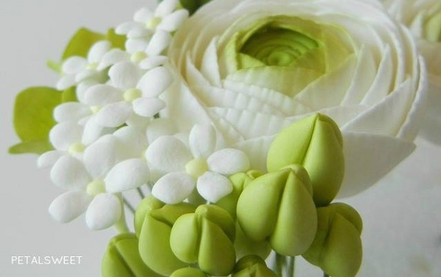 Sugar Paste Flowers For Cakes