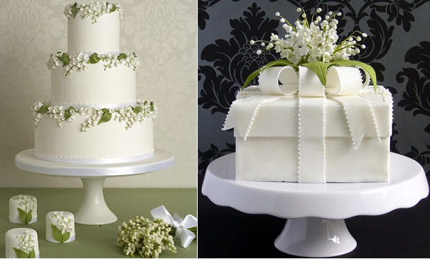 Lily Of The Valley Cakes By Peggy Porschen Left And Pamela Mccaffrey Made With Love