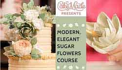 on trend sugar flowers tutorials