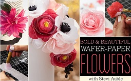 wafer paper flower tutorials on Craftsy
