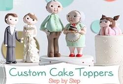 cake topper tutorials from Sugar High's Brenda Walton on Craftsy