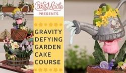 gardening cake tutorial watering can cake