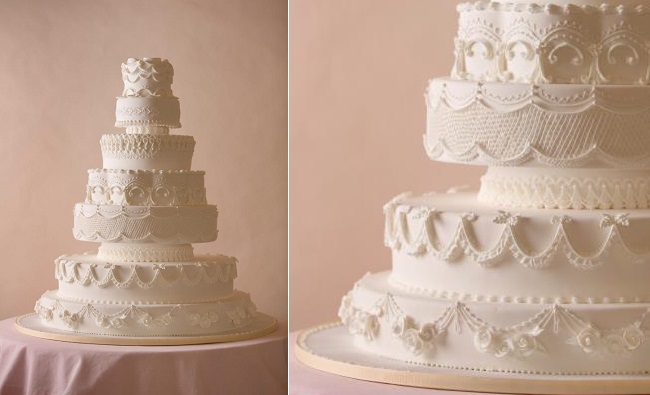 lambeth wedding cake by Wendy kromer Confections