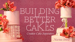 suspended cakes tutorial by Marina Sousa on Craftsy