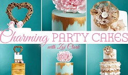 Charming Party Cakes by Zoe Clark on Craftsy